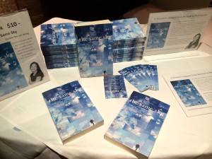 I also sold some The Same Sky books that evening to interested travelers!